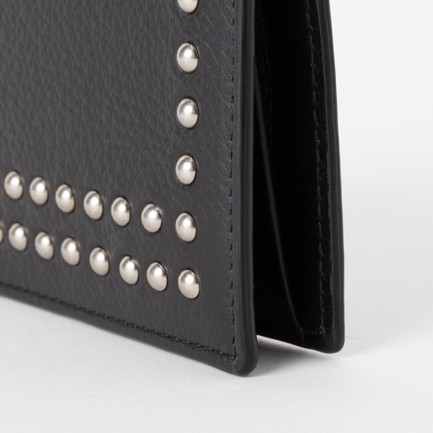 VISIT CARD HOLDER WITH STUDS 詳細画像 ブラック 6