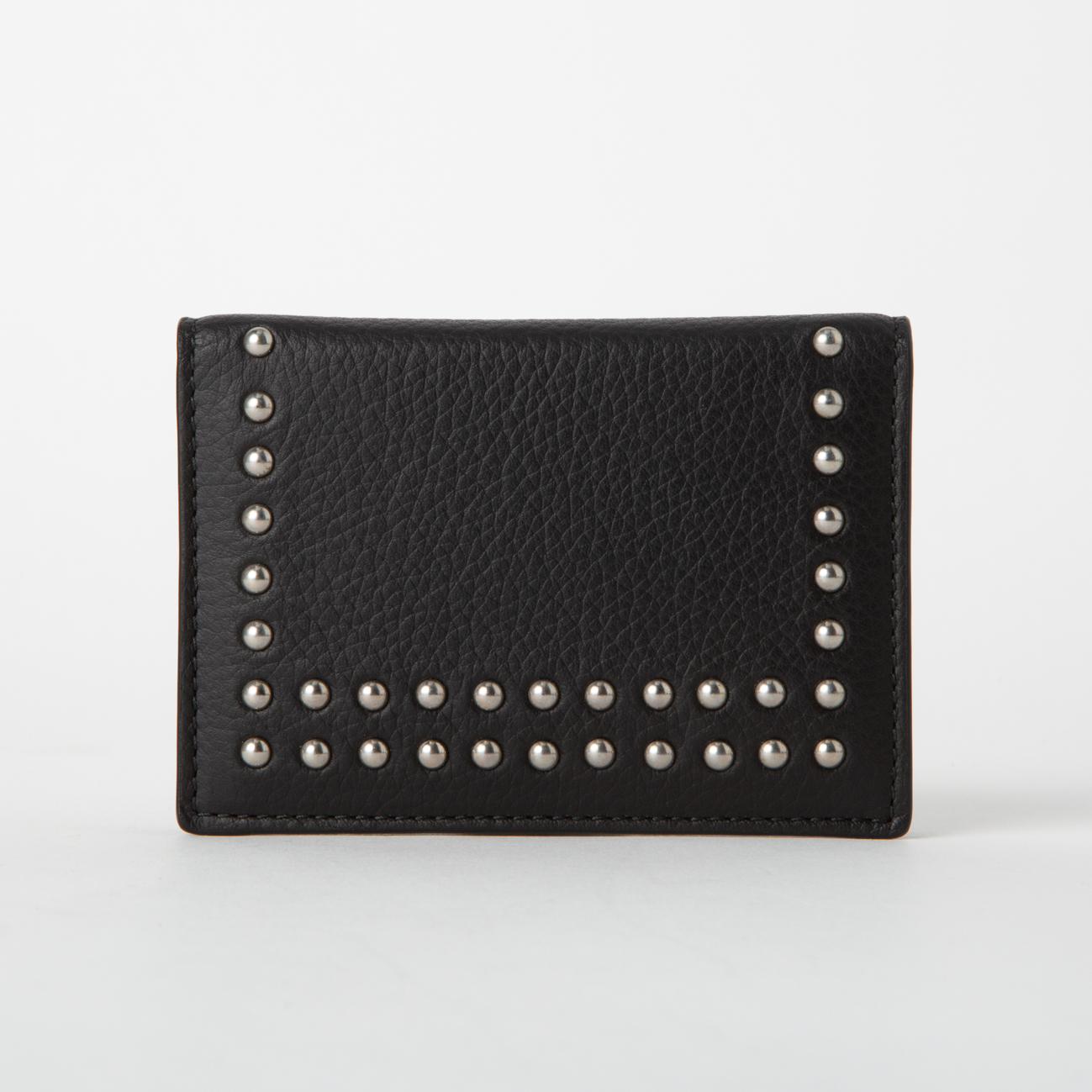 VISIT CARD HOLDER WITH STUDS 詳細画像 ブラック 1