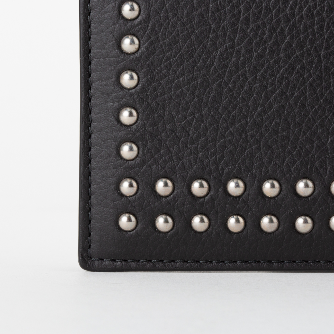 VISIT CARD HOLDER WITH STUDS 詳細画像 ブラック 4