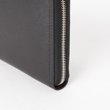 SAFIANO S ZIP AROUND WALLET 詳細画像 ブラック 4