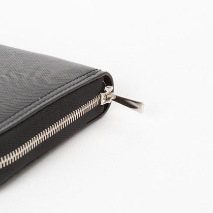 SAFIANO S ZIP AROUND WALLET 詳細画像 ブラック 5