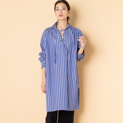 《TIME SALE》 LACE UP TUNIC SH