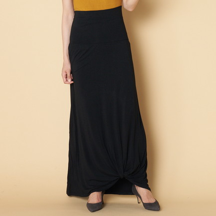 REFINED JERSEY TWISTED SKIRT
