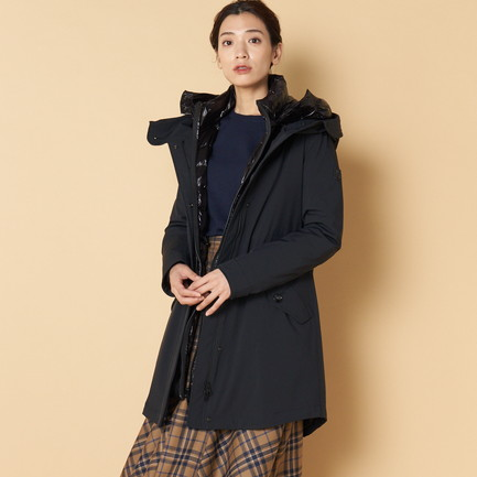 《TIME SALE》 ロングミリタリーパーカー(W'S LONG MILITARY PARKA)