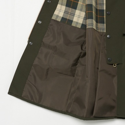 NEW-BURGHLEY-JACKET-2LAYER 詳細画像 オリーブ 9