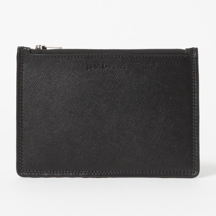 SAFFIANO ZIP POUCH CARD HOLDER