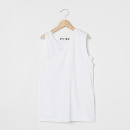 Cotton Tenjiku No Sleeve Tee